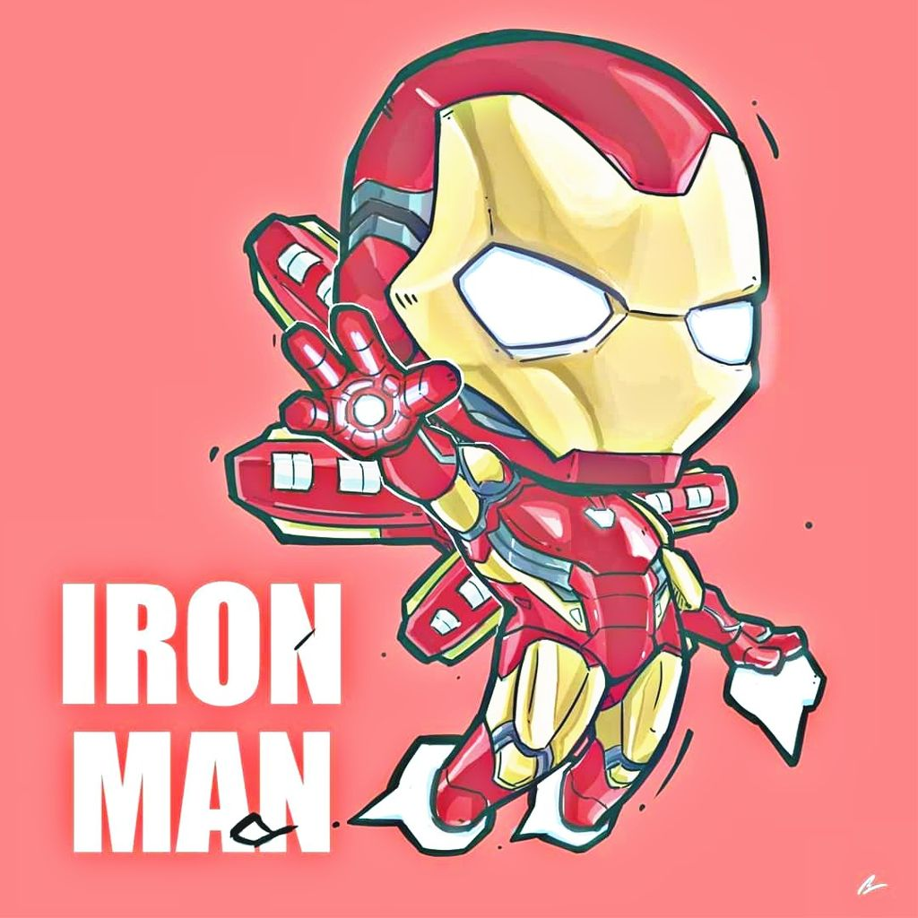 Ironman Fan Art! Chibi Fan Art ironman avengers avenge