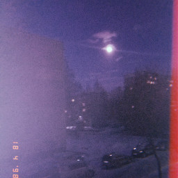 луна фон ночь
