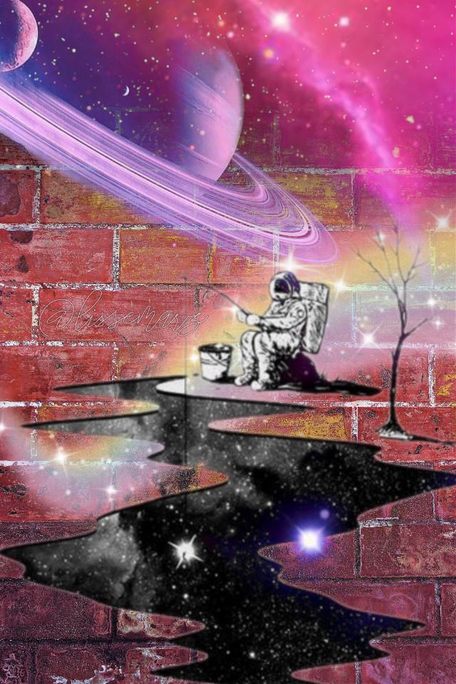 #freetoedit #universe #planets #galaxy #astronaut #stars