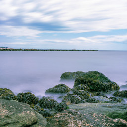 freetoedit naturephotography oceanview cloudyday