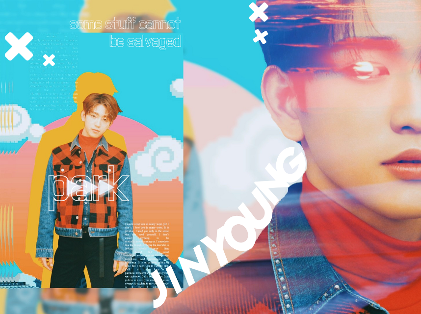 [☀️]  28th April Sunday 2019     - Some stuff cannot be salvaged. Like this edit 😔 I worked on it for days y'all.   Anyway this is for #lollyssunsetcontest by the amazing @lollycraft ❤️ I love you~     +All  credits :  -  Jinyoung   |    gummyseoyeon 💕  - Overlays  |  PicsArt ; DeviantArt  - Other apps used | Phonto      +Tags :  #got7 #jinyoung  #got7edit #kpop #kpopidol #kpopedit #got7jinyoung #parkjinyoung #jinyoungedit