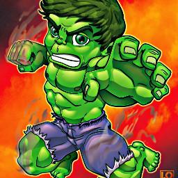 hulk brucebanner fanart lordmesa avengers freetoedit