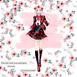 yui diaboliklovers ayato flower pink freetoedit