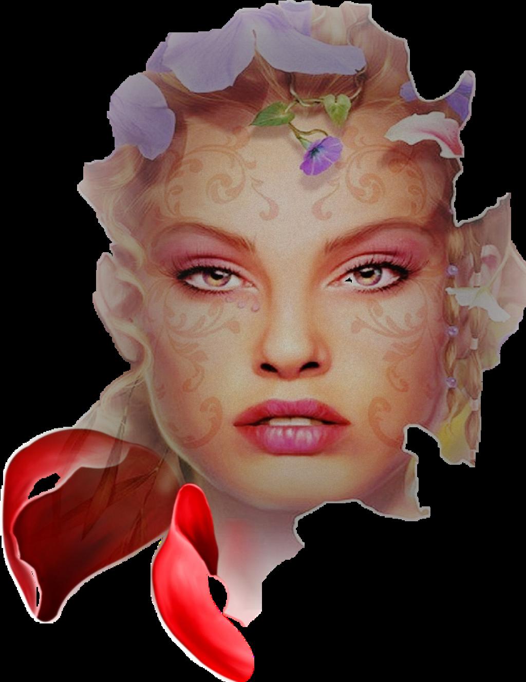 #woman #face