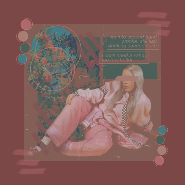 """i'm into second hand smoke...""  #billie #billieeilish #billieeilishedits #billieeilishaesthetic #aesthetic #aes #pink #pinkaesthetic #aestheticpink #whenweallfallasleepwheredowego #xanny #freetoedit"