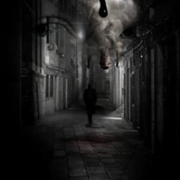 freetoedit scarystreet street walkingalone