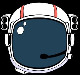 space helmet astronaut astronauta astronauthelmet freetoedit scspacestickers