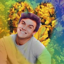 freetoedit gratitude rainbows sunflowers heartshapes