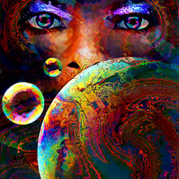 myoriginalwork originalart womanportrait conceptualart colorful