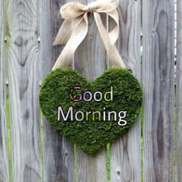 freetoedit goodmorning heart greeting temix