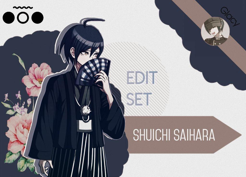 Danganronpa freetoedit Shuichi Saihara Edit SpriteEdit