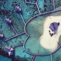 drone pulocinta indonesia landsacape hotel pctourist