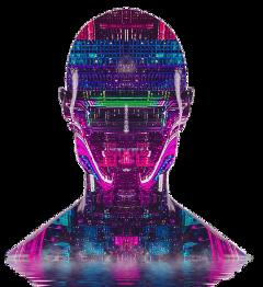 freetoedit man artwork doubleexposure