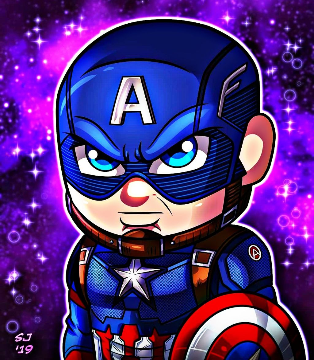 Captain America! Fan Art Fan Art By Stevensondrawings F