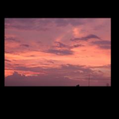 розовоенебо небо фон фоны закат freetoedit