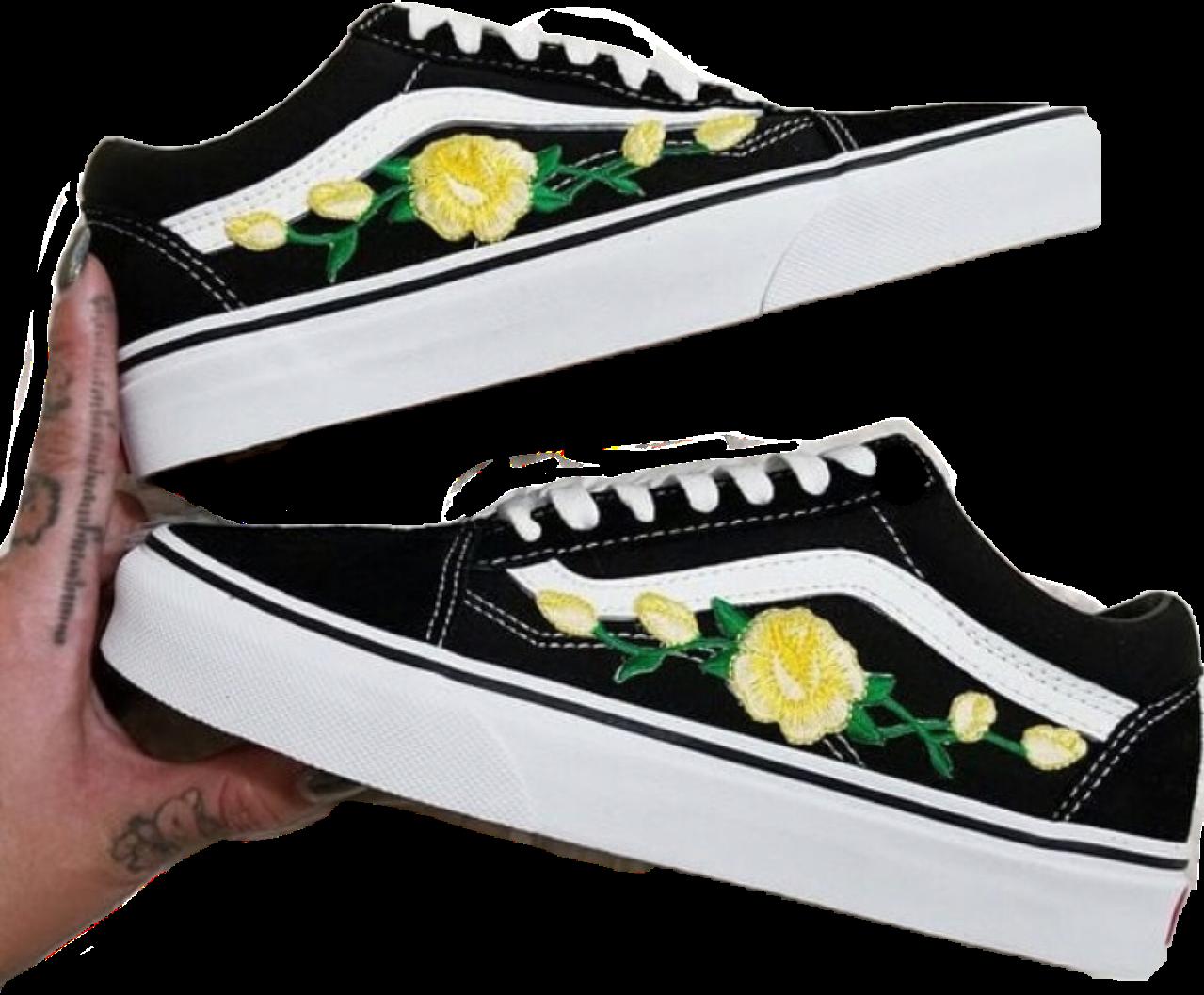 vans shoes black blackvans Sticker by 🧸☔🌈🐠🥭