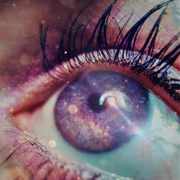 freetoedit openyoureyes galaxy stars eyeswideopen irclookinside