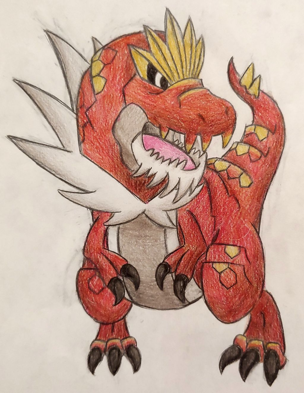 Tyrantrum Pokemon Tyrantrum Artwork