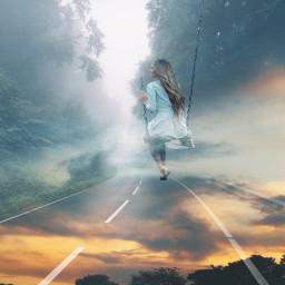 freetoedit surreal road