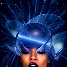 freetoedit myoriginalwork originalart womanportrait conceptualart ircjellyfish