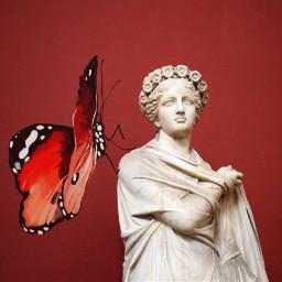 freetoedit @csefi historic challenge butterfly sculpture ircstatueofremix