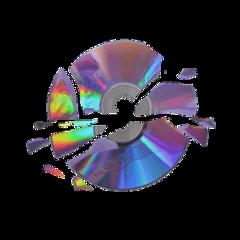 asthetic cd dvd dvds rainbow freetoedit