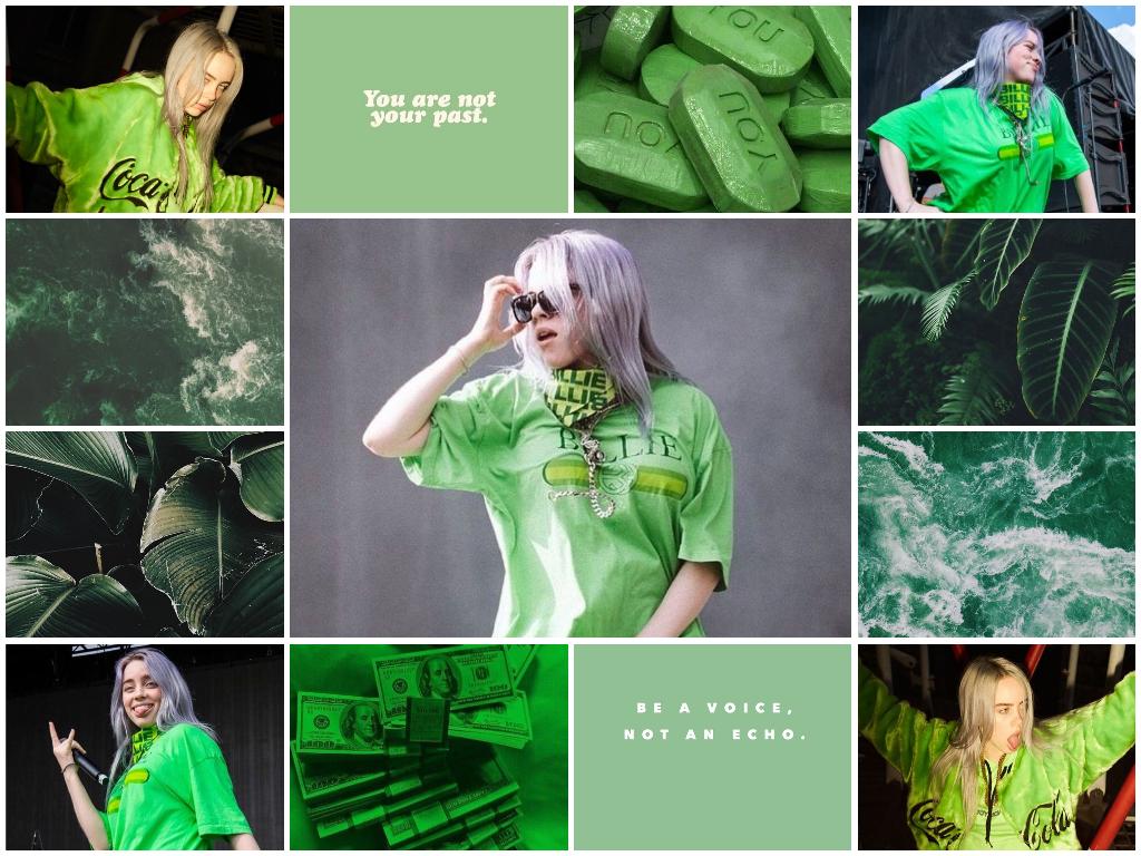 Pinterest Billie Eilish Wallpaper Collage