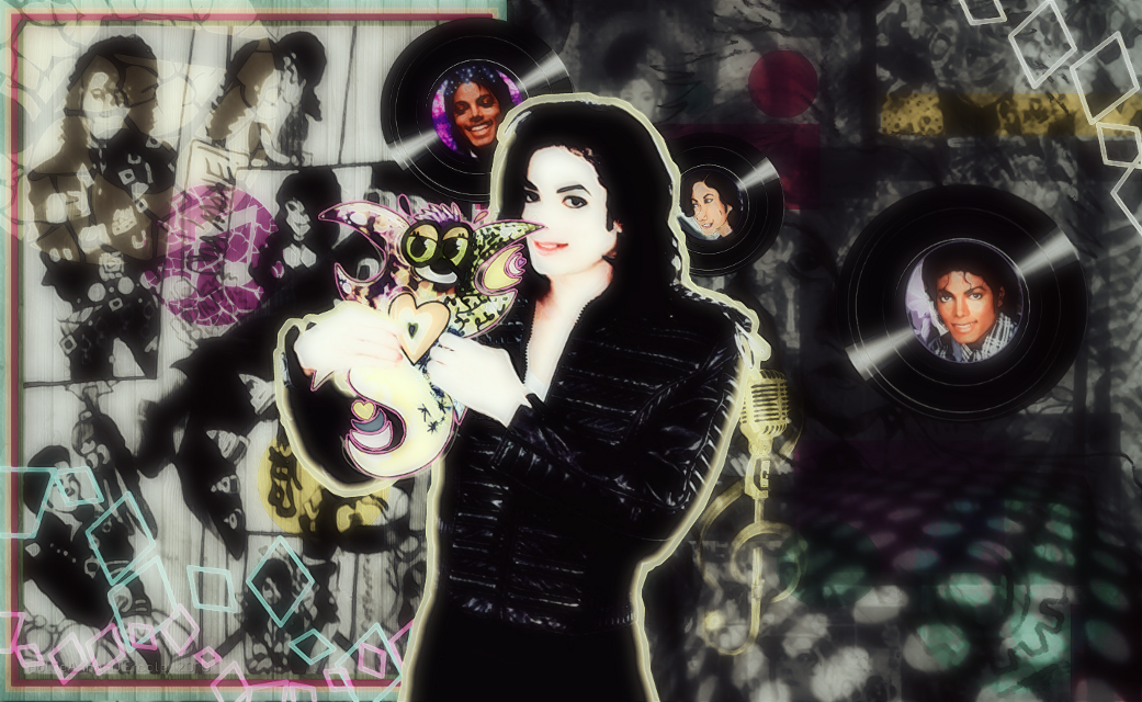 Michael Jackson and my vivid artwork. #freetoedit #michaeljackson #parisjackson #janetjackson #Motown #rockstar #rockwithyou #mj #michael #hollipolliyozza @_shamone_