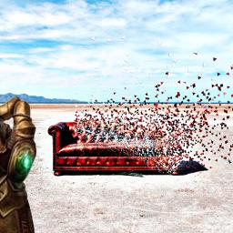 freetoedit endgame avengers thanos chasquido ircremixcouch
