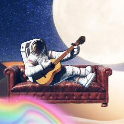 freetoedit galaxy astronaut ircremixcouch remixcouch