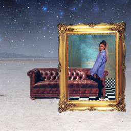 freetoedit arianagrande surreal galaxy ircremixcouch
