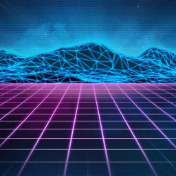 freetoedit background perspective blue neon