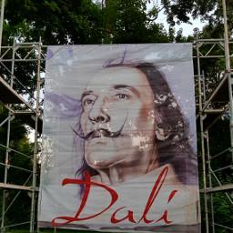 flag dali salvadordali exhibition announcement pcbanners