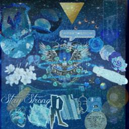 ravenclaw darkblueaesthetic goldaesthetic eagle freetoedit