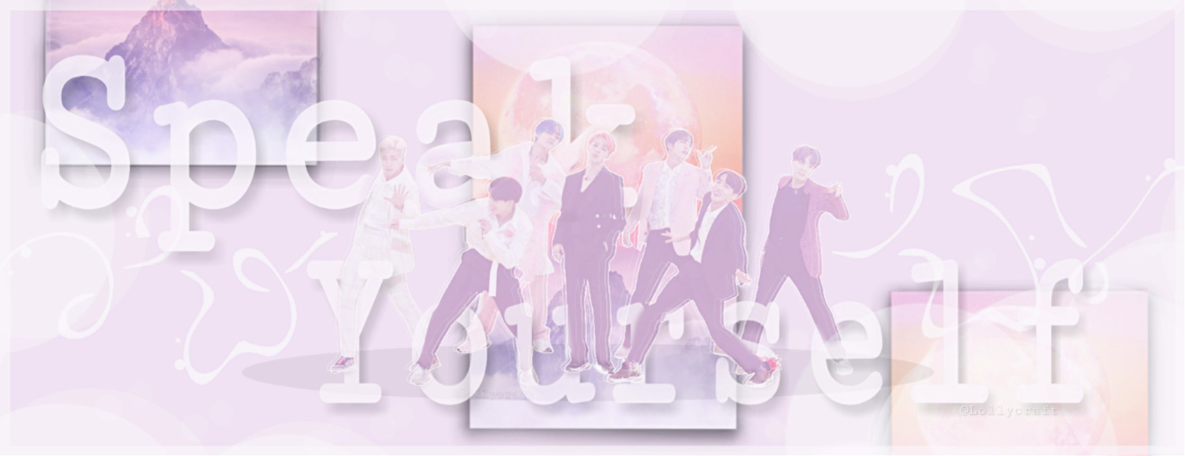 BTS concert banner - opinions?😉  Hey guys! What do you think of this banner? - I've put so much effort in it and spend like 3 hours to decide what to do with the words(I'm so bad at adding words to edits😂 = MeBeingDumb™ ).  💕 Would it be worth being printed and taken with me to the concert? I'm waiting for your opinions (E.g.-needs more color, meh, don't you dare print it) 😂 💕  PS-the original has a way better quality  Hope you like it too 😊💜  #bts #poster #concert #kpop #banner #speakyourself