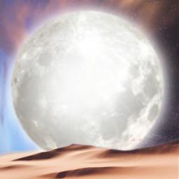 freetoedit 4 background moon surreal