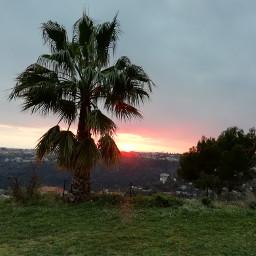 freetoedit sunset landscape photography aesthetic pcrurallife