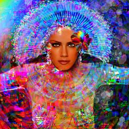 myoriginalwork originalart womanportrait conceptualart colorful freetoedit