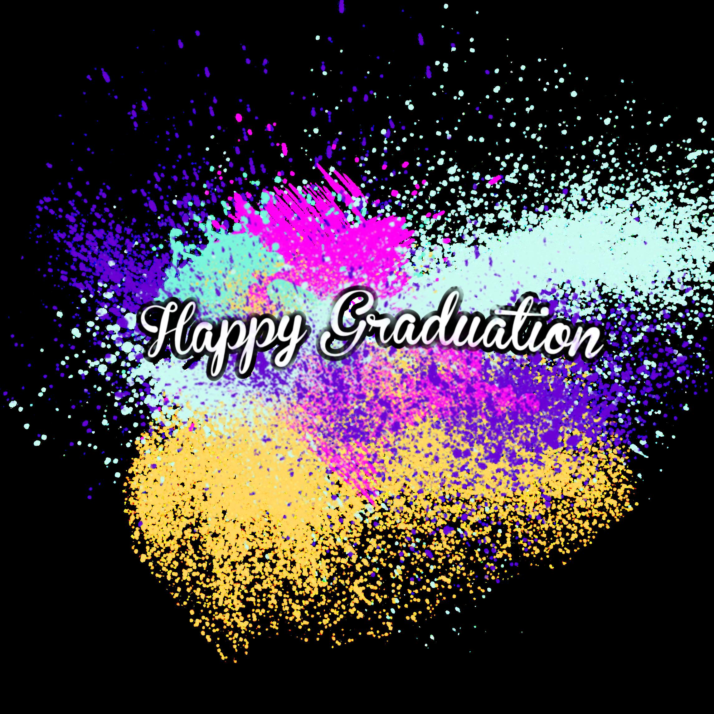 graduation happygraduation splashcolor wisuda congratul