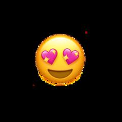 sticker emoji heart hearts hearteye freetoedit