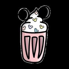 mickey mike smothie milkshake wallpaper freetoedit