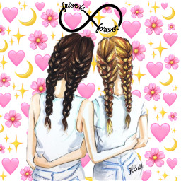 bff bedstfriendsforever love girls girly_m freetoedit