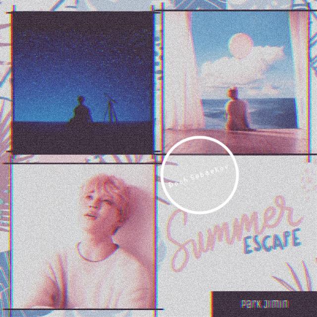 """JIMIN"" #kpop #korea #jimin #bts #bighit #collage #summer #freetoedit"