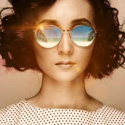 freetoedit sunny sunglasses reflections lenflare ircsunglasses