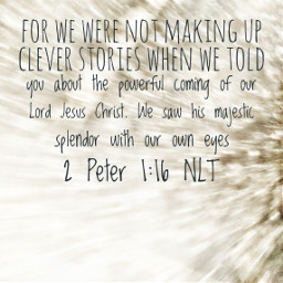 stories eyewitness jesus