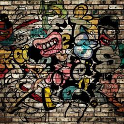 freetoedit pared graffiti wallpapers wallpaperedit stickersfreetoedit