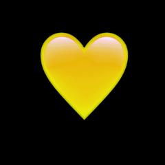 yellow heart yellowheart awesome wallpaper freetoedit
