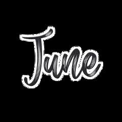 june month glitter blackglitter overlay freetoedit