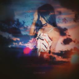 freetoedit nilssonedits doubleexpousure edits sunset