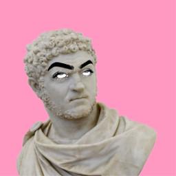 freetoedit statue eyeroll